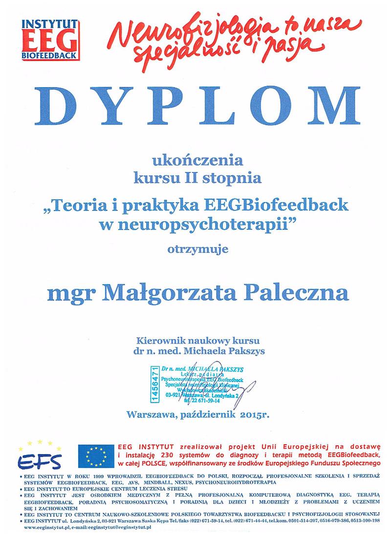 Biofeedback Małgorzata Wojtczak